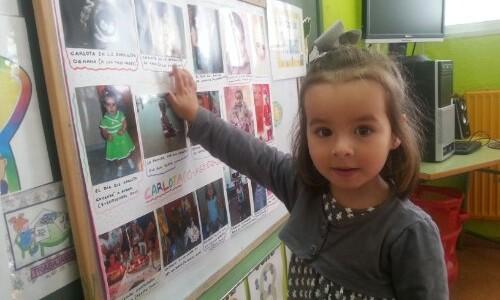 Octubre 2013. Semana protagonista de Carlota en Infantil de 3 años
