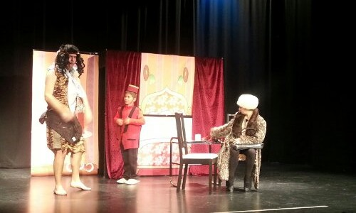 17 Diciembre 2013. Teatro de inglés