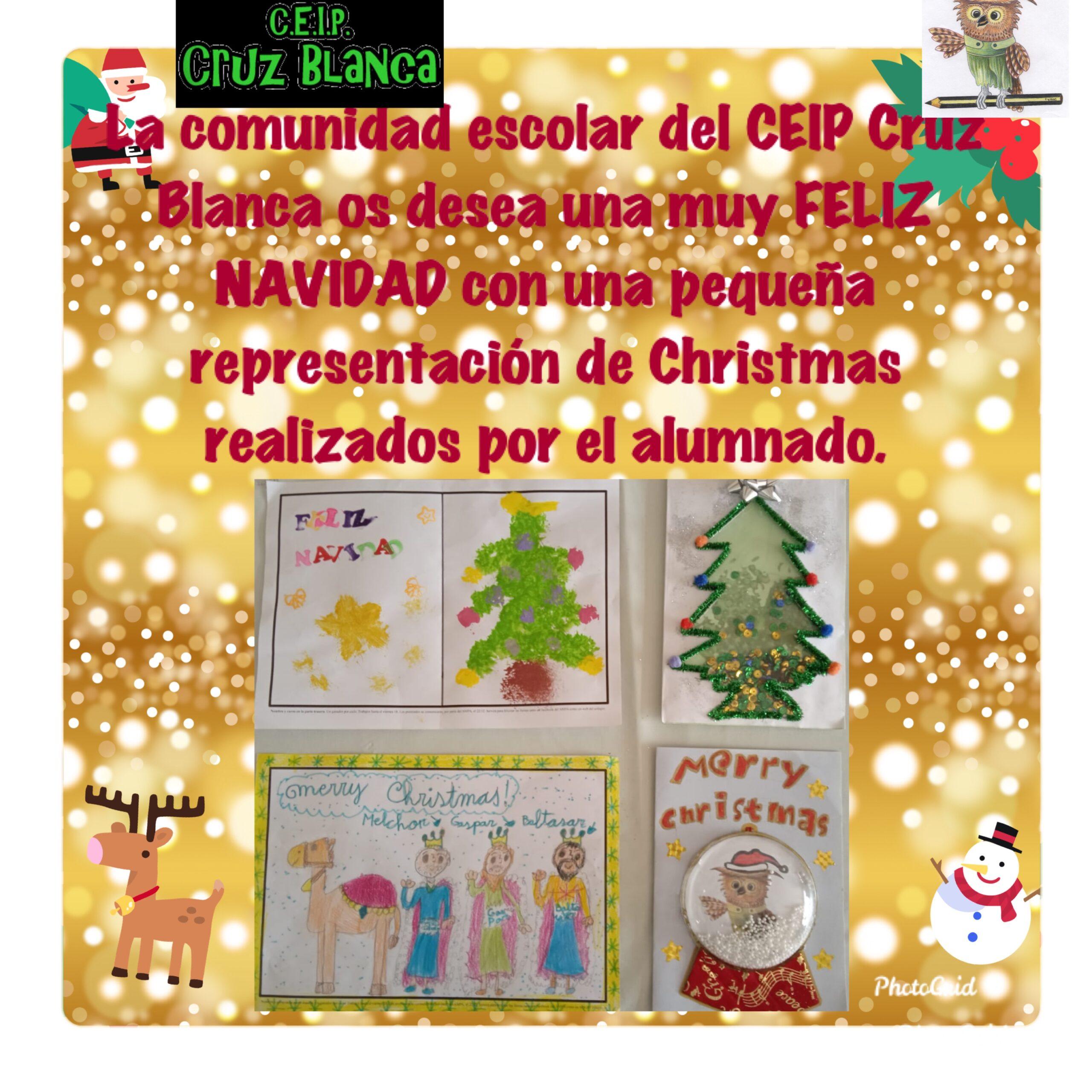 Navidad 2020 en el Cruz Blanca