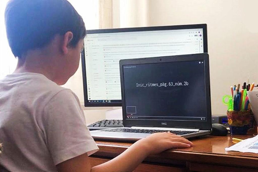 Clases online generalizadas. Qué hacer si tu hijo/a está confinado/a en casa